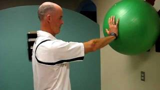 Shoulder (glenohumoral joint) stability exercise