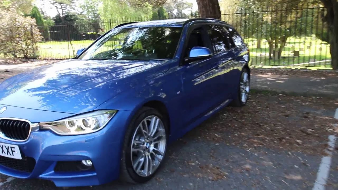bmw 335d xdrive m sport touring auto youtube. Black Bedroom Furniture Sets. Home Design Ideas