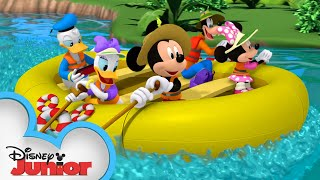 Download Mickey and Friends Go Rafting ⛺| Mickey Mornings | Mickey Mouse Mixed-Up Adventures | Disney Junior