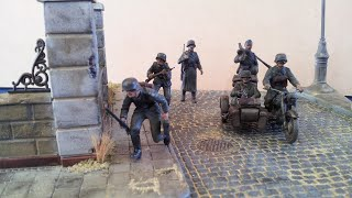 German infantry diorama 1/35