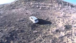 Toyota Fortuner тест драйв.  Часть 3