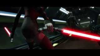 Star Wars: The Clone Wars - Asajj Ventress & Savage Opress vs. Count Dooku [1080p]