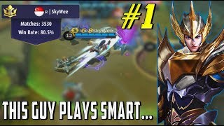 ZILONG WORLD TOP 1 : SKYWEE - HOW TO PLAY SAFE - Mobile Legends