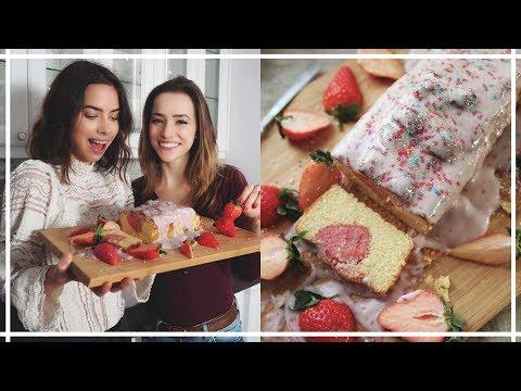 Walentynkowe ciasto z JustDeliciousX / Wegańskie & Bezglutenowe