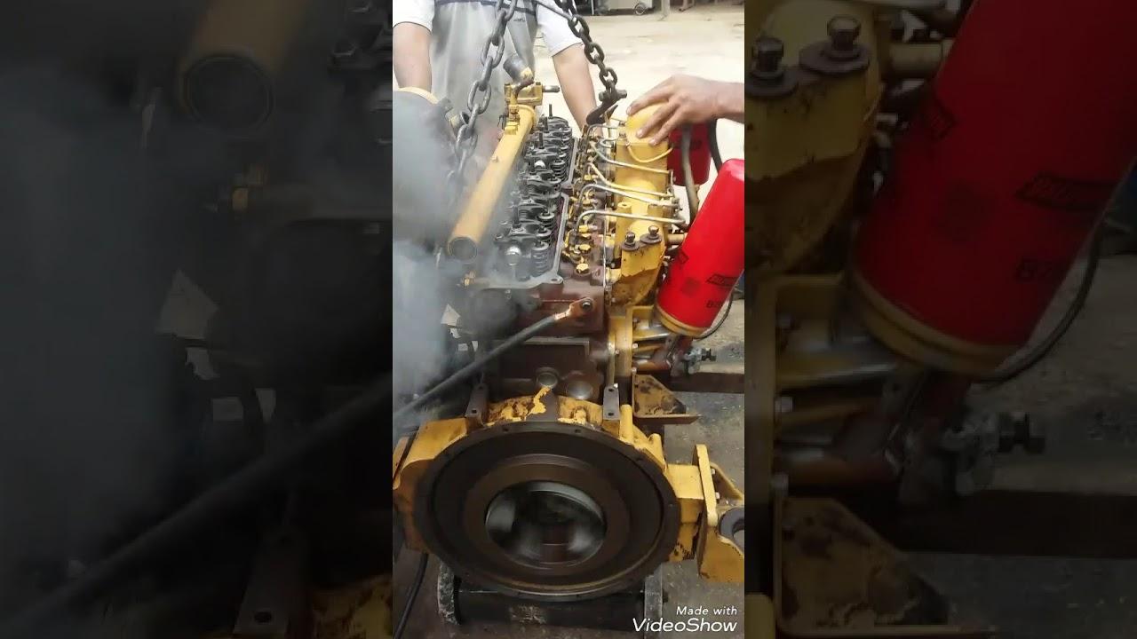 Motor caterpillar 3066 encendido