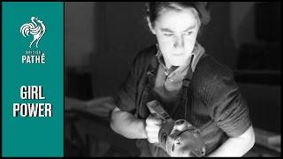 Women at War | British Pathé