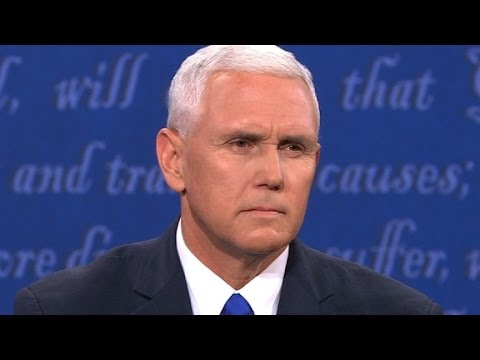 Pence misstated location of the VP debate