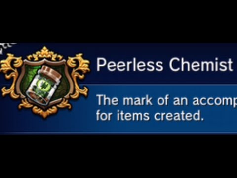Final Fantasy Brave Exvius | Peerless Chemist Trophy | Cheap and Easy to craft Potions and Shurikens