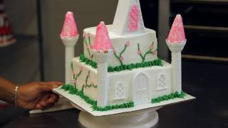Decorate a Princess Cake with Flowers | Birthday Cakes