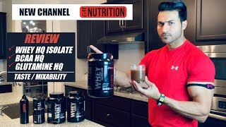 GM Nutrition New Channel for Athletes, Sponsorships, Public Reviews || Whey/BCAA/Glutamine Review