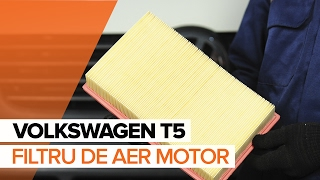 Cum se inlocuiesc filtru de aer motor pe VOLKSWAGEN T5 TUTORIAL | AUTODOC