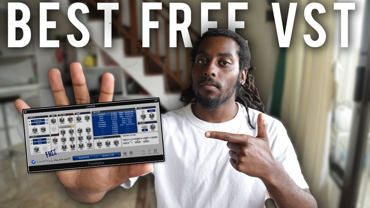 THIS IS THE BEST FREE VST! Making FIRE beats with FREE VST PLUGINS