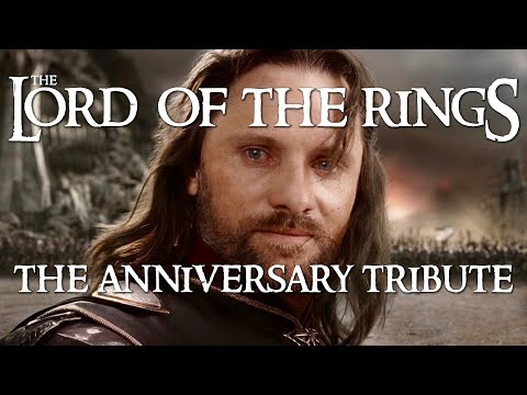 Lord of the Rings: 15th Anniversary Tribute Trailer