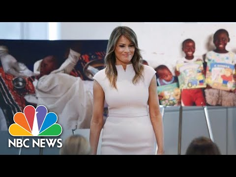 Melania Trump Announces October Trip To 4 Countries In Africa | NBC News