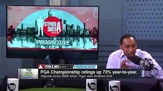 Stephen A. interviews Justin Thomas on Tiger Woods and more | The Stephen A. Smith Show | ESPN