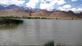 Diaz Lake in Lone Pine CA Eastern Sierra fishing ground