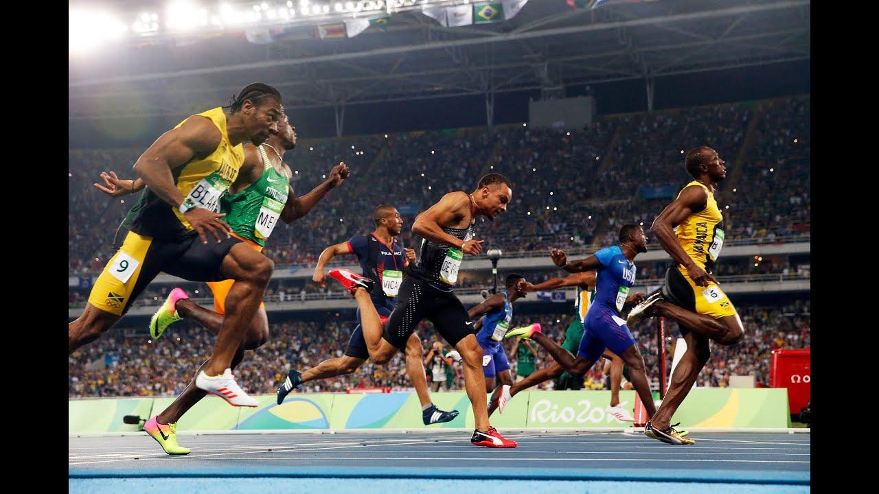 Usain Bolt wins 100m run RIO Olympics 2016 [HD] - YouTube