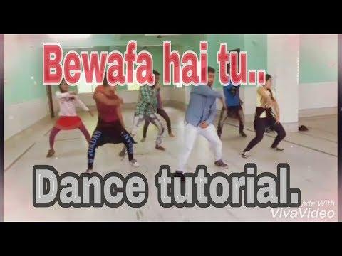 Bewafa hai tu dance tutorial| dancer sourav and team | Just Entertainment