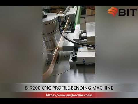 Small aluminum profile bending machine