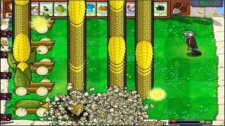 99 Cob Cannon vs 999 Gargantuar - Plants vs Zombies