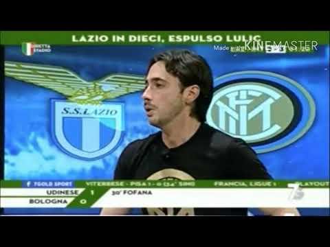 Lazio-Inter 2-3 Tramontana  7 (Gold) Audio Inter è in champions