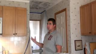Como remover textura de techos de sheetrock popcorn ceiling