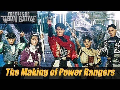 The Making of Power Rangers! | Desk of DEATH BATTLE!