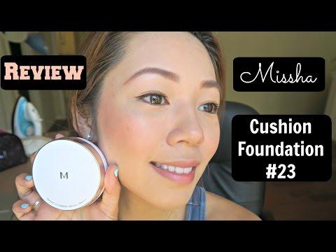 韩国气垫粉底 MISSHA Magic Cushion Foundation Review #23 Natural Beige | crystalforest