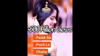 😆Palak Se Puch Lo Chahe Status video 😆
