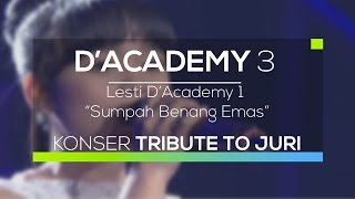Video Lesti D'Academy - Sumpah Benang Emas (D'Academy 3 - Konser Tribute to Juri) download MP3, 3GP, MP4, WEBM, AVI, FLV April 2018