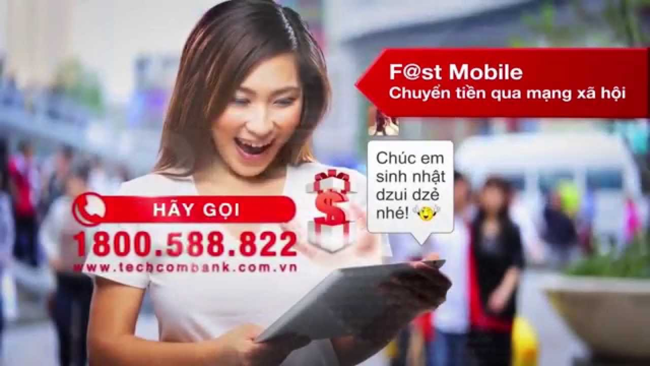 Dịch vụ Mobile banking - F@st Mobile - Techcombank