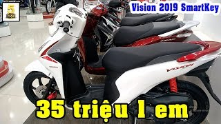 Honda #Vision 2019 Smartkey ▶️ Chiếc xe Honda Vision 2019 Smartkey mới về đại lý TOP 5 ĐAM MÊ