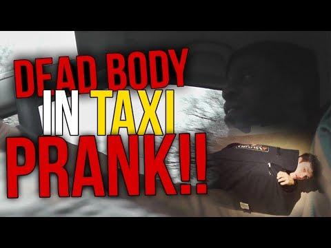 DEAD BODY IN TAXI?!