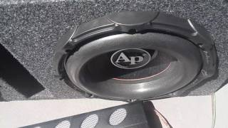 Subwoofer Excursion 2 Audiopipe TXX-BD2-10 / APCL-15001D / ASC Enclosure