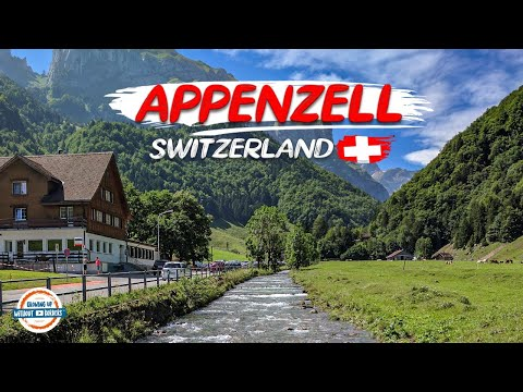 Discovering Appenzell Swizerland and a Tour up the Ebenalp to the Aescher Guesthouse