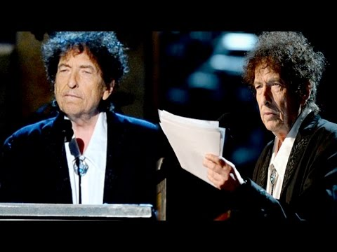 Bob Dylan Thanks Jimi Hendrix, Johnny Cash in MusiCares Speech
