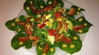 Самый вкусный и полезный салат с авокадо