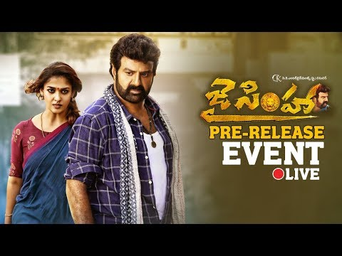 Jai Simha Movie Pre Release Event LIVE |...