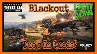 Call Of Duty Black Ops 4 BLACKOUT! Can Stunna Clutch? Duo's In Squads With BubbaJay!