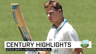 Prolific Smith scores his slowest first class century