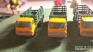 Matchbox Stake Truck
