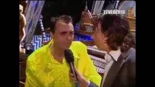 Feest DJ Maarten Zingt Alle Idioten Op De Kermis In Tilburg 2007 Voor TV Artiesten (In De Media)