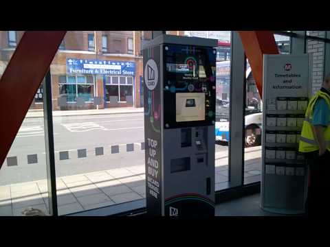 How to use an MCard ticket machine