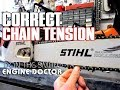 How-To Properly Adjust The Chain Tension On Your Chainsaw
