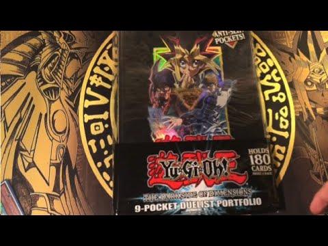 THE DARK SIDE OF DIMENSIONS 9 POCKET DUELIST PORTFOLIO180 Cards YuGiOh Binder
