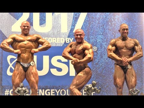 NABBA USN Britain Finals 2017 - Masters Over 40