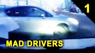 MAD DRIVERS #1: 17 Videos of Car Crashes and Close Calls (HD Compilation)