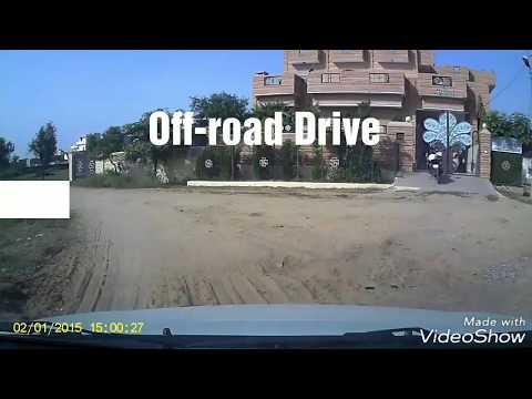 Maruti Suzuki Swift Offroad In Rajasthan | Dash Cam Recording | Blaupunkt Dash Cam 2.0 Recording