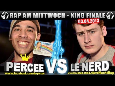 RAP AM MITTWOCH - Percee vs Le Nerd 03.04.13 BattleMania King Finale (5/5) GERMAN BATTLE