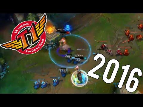 BEST OF SKT 2016 | (League Of Legends)